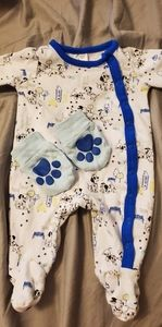 Newborn Disney Outfit with Mittens